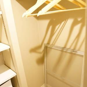 エステート猿江3号棟(4階,)のウォークインクローゼット