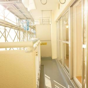 エステート猿江3号棟(4階,3499万円)のバルコニー