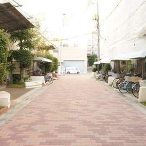 エステート猿江3号棟の入口・エントランス