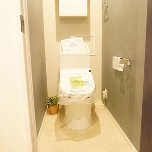 東急ドエルアルス石川台B棟(4階,2790万円)のトイレ