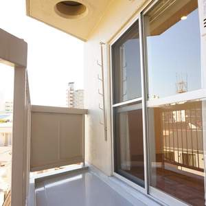東急ドエルアルス石川台B棟(4階,2790万円)のバルコニー
