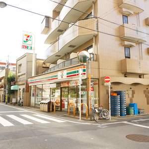 シャンボール第2都立大の周辺の食品スーパー、コンビニなどのお買い物