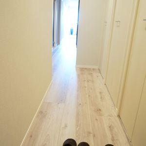 シャンボール第2都立大(5階,)のお部屋の廊下