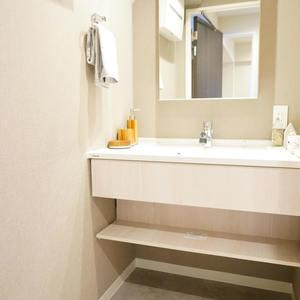 シャンボール第2都立大(5階,4380万円)の化粧室・脱衣所・洗面室