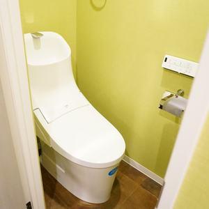 柿の木坂サニーハイツ(4階,)のトイレ