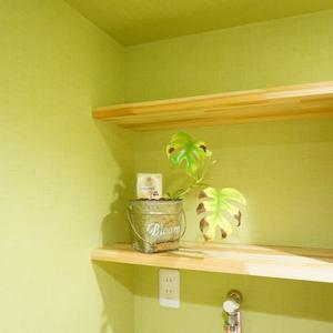 柿の木坂サニーハイツ(4階,)の化粧室・脱衣所・洗面室