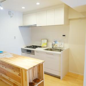 柿の木坂サニーハイツ(4階,)のキッチン