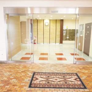 トキワパレスのマンションの入口・エントランス