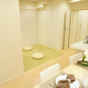 グリーンヒル新宿(4階,)のリビング・ダイニング
