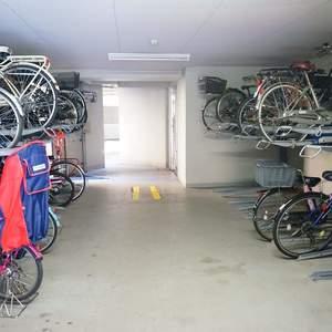 パークハイツ板橋志村の駐輪場