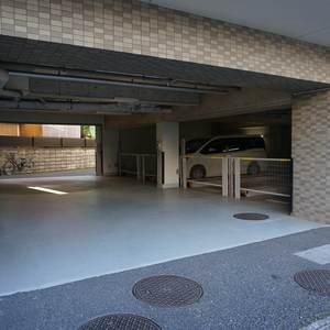 パークハイツ板橋志村の駐車場