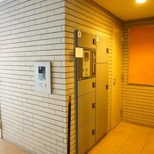 パークハイツ板橋志村のマンションの入口・エントランス