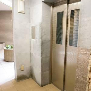 パークハイツ板橋志村のエレベーターホール、エレベーター内
