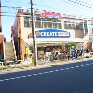 中銀城北パークマンシオンの周辺の食品スーパー、コンビニなどのお買い物