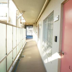 中銀城北パークマンシオン(2階,2380万円)のフロア廊下
