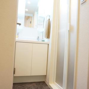 中銀城北パークマンシオン(2階,2380万円)の化粧室・脱衣所・洗面室