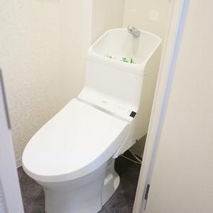 中銀城北パークマンシオン(2階,)のトイレ