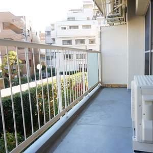 中銀城北パークマンシオン(2階,2380万円)のバルコニー