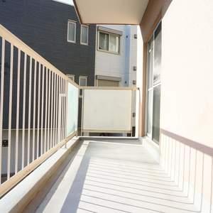 中銀城北パークマンシオン(2階,)のバルコニー