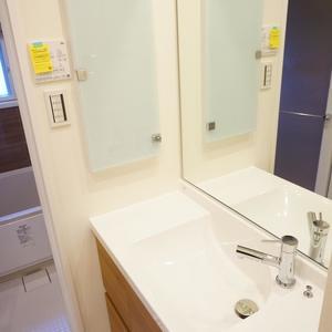 旗の台フラット(4階,)の化粧室・脱衣所・洗面室