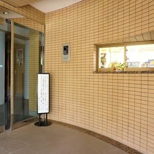 旗の台フラットのマンションの入口・エントランス