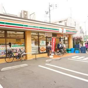 旗の台フラットの周辺の食品スーパー、コンビニなどのお買い物