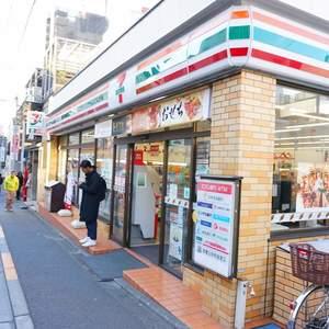 スカイコート神楽坂参番館の周辺の食品スーパー、コンビニなどのお買い物