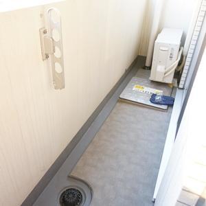 スカイコート神楽坂参番館(3階,4590万円)のバルコニー