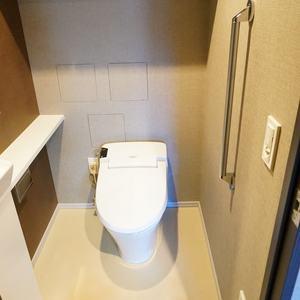 パークハウス中野アーバンス(1階,4780万円)のトイレ