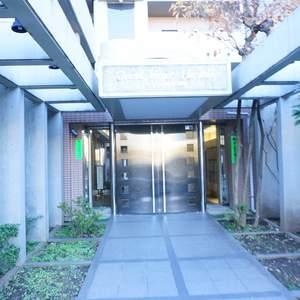 グランヴェルジェ蓮根のマンションの入口・エントランス