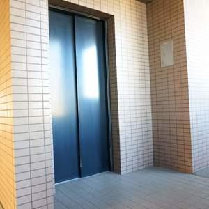グランヴェルジェ蓮根のエレベーターホール、エレベーター内