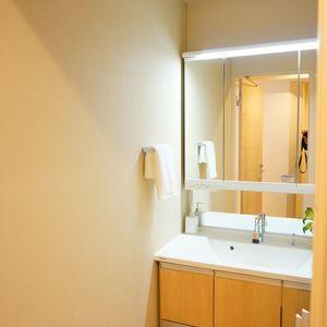 入谷アムフラット2(6階,4780万円)の化粧室・脱衣所・洗面室