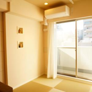 入谷アムフラット2(6階,4780万円)のリビング・ダイニング