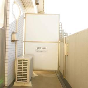入谷アムフラット2(6階,4780万円)のバルコニー
