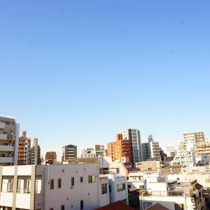 入谷アムフラット2(6階,4780万円)のお部屋からの眺望