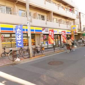入谷アムフラット2の周辺の食品スーパー、コンビニなどのお買い物