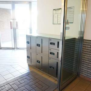 朝日シティパリオ三ノ輪の入口・エントランス