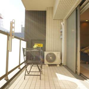 エグザ三ノ輪アヴェニール(4階,)のバルコニー