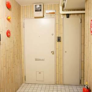 中銀マーブルマンシオン新宿5丁目(2階,3490万円)のフロア廊下