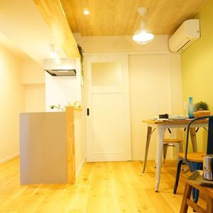中銀マーブルマンシオン新宿5丁目(2階,3490万円)のリビング・ダイニング
