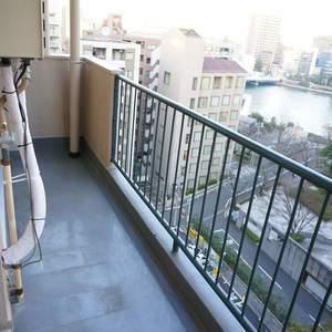 越前堀永谷マンション(12階,)のバルコニー