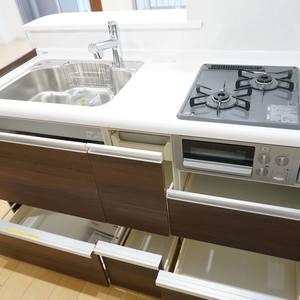 越前堀永谷マンション(12階,)のキッチン