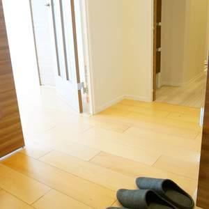 西戸山タワーホウムズノースタワー(24階,7280万円)のお部屋の廊下