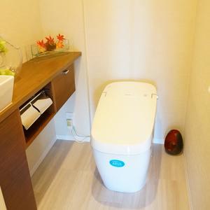西戸山タワーホウムズノースタワー(24階,7280万円)のトイレ