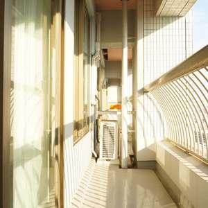 西戸山タワーホウムズノースタワー(24階,7280万円)のバルコニー