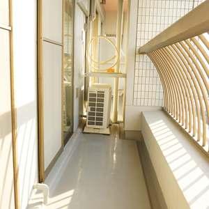 西戸山タワーホウムズノースタワー(15階,6790万円)のバルコニー