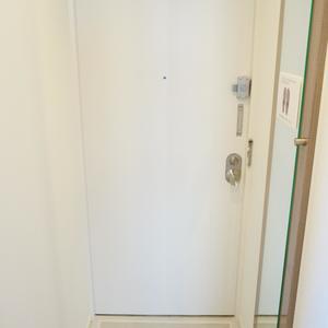 ウェスト早稲田マンション(4階,)のお部屋の玄関