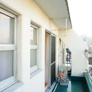 ウェスト早稲田マンション(4階,)のバルコニー