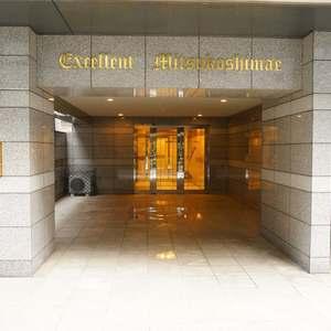 エクセレント三越前のマンションの入口・エントランス