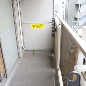 エクセレント三越前(5階,)のバルコニー